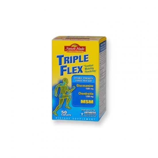 قرص تریپل فلکس نیچرمید   50 عدد   کمک به درمان و پیشگیری از آرتروز