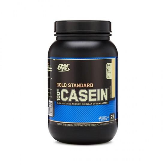 پودر کازئین گلد استاندارد اوپتیموم نوتریشن | 909 گرم | افزایش عملکرد عضلات