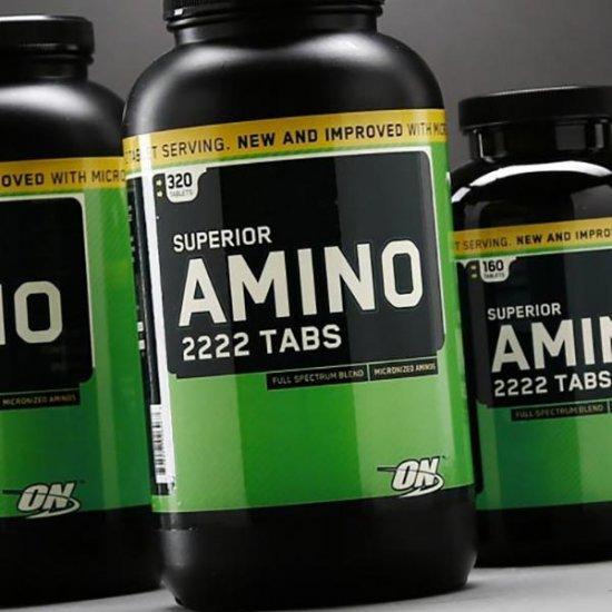 پک قرص سوپریور آمینو 2222 و فیبر اپتیموم نوتریشن | 320 عدد | پک بسیار جذاب برای عضله سازی