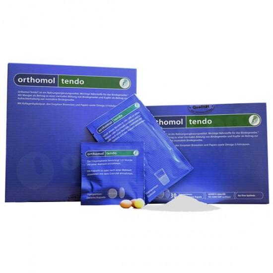 ساشه، کپسول و قرص ارتومول تندو | 30 عدد | حاوی عناصر تاثیر گذار بافت همبند
