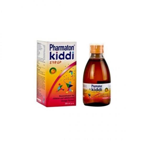 شربت کیدی فارماتون | حاوی انواع ویتامین و مواد معدنی برای رشد و تقویت کودکان