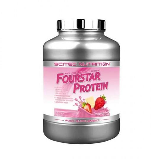 پودر پروتئین فور استار سایتک   حاوی 4 پروتئین: وی، کازئین، پروتئین شیر و تخم مرغ