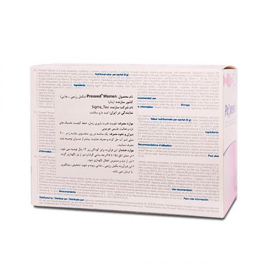 ساشه پروکسید وومن سیگما تاو | 30 عدد | تقویت قدرت باروری و بهبود کیفیت تخمک در زنان