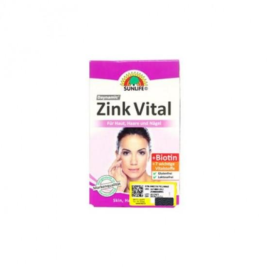 کپسول زینک ویتال سان لایف   60 عدد   پیشگیری از ریزش مو، همراه با ویتامین ب کمپلکس