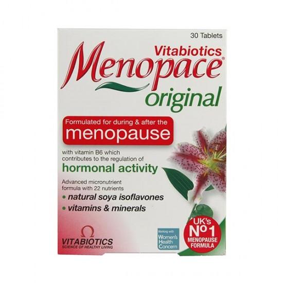 قرص منوپیس ویتابیوتکس | 30 عدد | حفظ سلامت زنان در دوران یائسگی و بعد از یائسگی