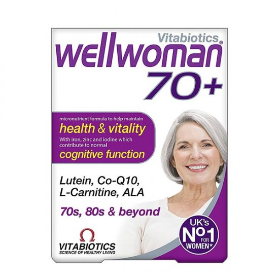 قرص ول ومن بالای 70 سال ویتابیوتیکس | 30 عدد | مولتی ویتامین و تقویت سیستم ایمنی
