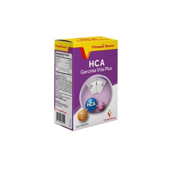قرص اچ سی آ گارسینیا ویتا پلاس ویتامین هاوس   112 عدد   چربی سوز، کاهش اشتها و رفع توده های چربی