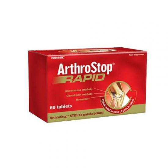 قرص آرترواستاپ رپید والمارک   60 عدد   کمک به درمان آرتروز، درد و التهاب مفاصل و غضروف ها