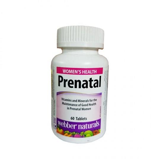 قرص پریناتال وبر نچرالز | حاوی انواع ویتامین و مواد معدنی برای دوران بارداری و شیردهی