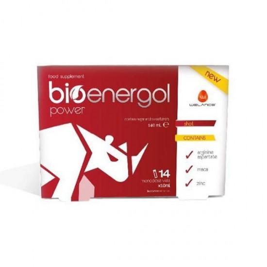 ویال خوراکی بیونرگل پاور ولانس | 14 عدد | تقویت قوای جسمانی و جنسی، رفع خستگی و افزایش انرژی