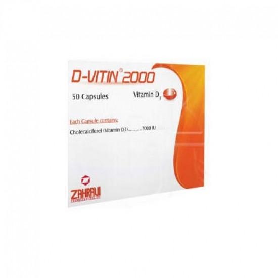 کپسول ویتامین D3 2000 داروسازی زهراوی   50 عدد   تقویت استخوان و جلوگیری از پوکی استخوان