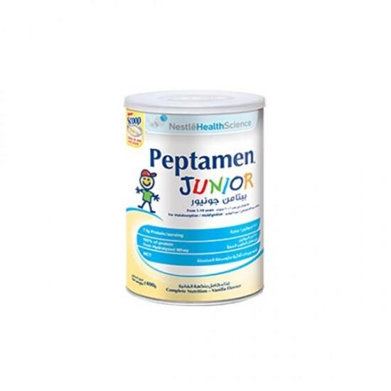 پودر پپتامن جونیور نستله هلث ساینس   مکمل غذایی و مولتی ویتامین کامل برای تامین نیاز بدن