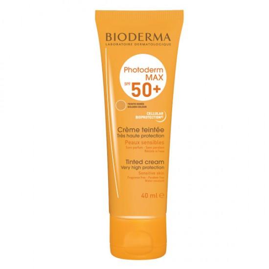 کرم ضد آفتاب فتودرم مکس کرمی رنگی بایودرما   40 میلی   محافظت عمقی پوست