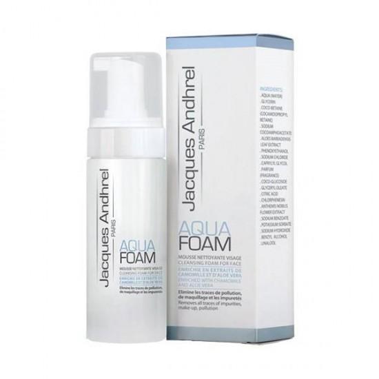 آکوا فوم ژاک آندرل   150 میل   پاک کننده و شوینده صورت، بدون صابون و پارابن