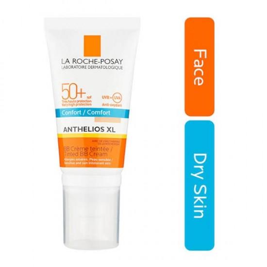 کرم ضد آفتاب کامفورت BB رنگی لاروش پوزای | 50 میلی | نرم کننده، آبرسان و مغذی پوست