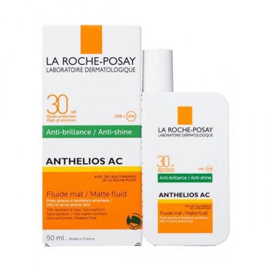 فلوئید ضد آفتاب بی رنگ ضد آکنه لاروش پوزای | 50 میلی | مناسب پوست های جوشی و چرب