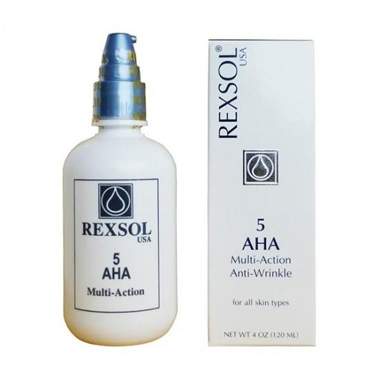 کرم AHA5 رکسول | لایه بردار و ضد چروک