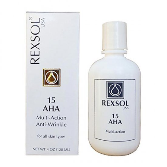 کرم لایه بردار AHA 15 رکسول | ضدلک و ضد چروک