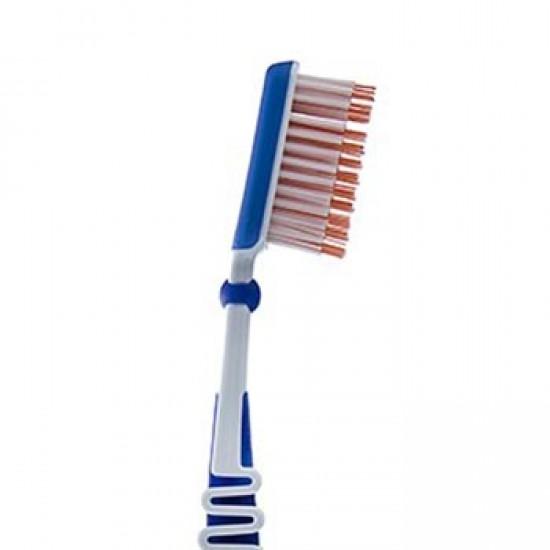 مسواک بین دندانی آکوافرش   دارای موهای بلند برای تمیز کردن بین دندان ها