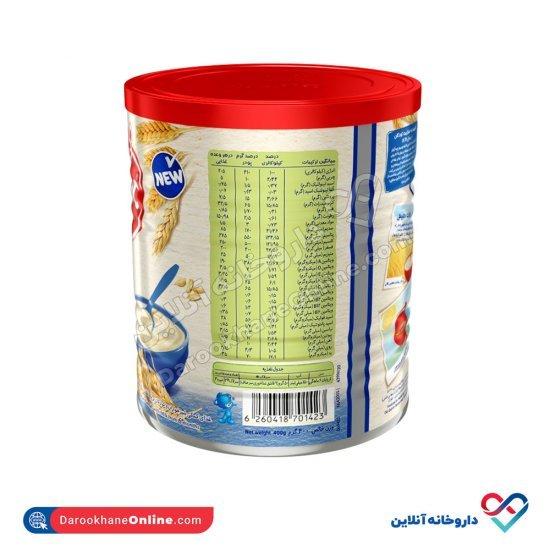 سرلاک گندم به همراه شیر نستله | غذای کمکی کامل کودکان از پایان 6 ماهگی