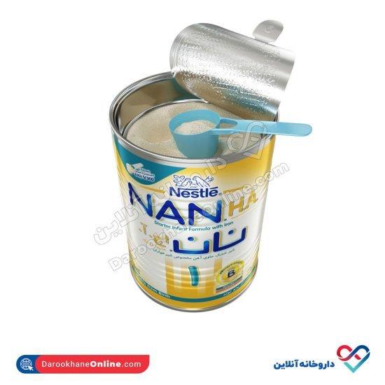شیر خشک نان اچ آ 1 نستله | 400 گرم | حاوی آهن و مناسب برای کودکان تازه متولد شده