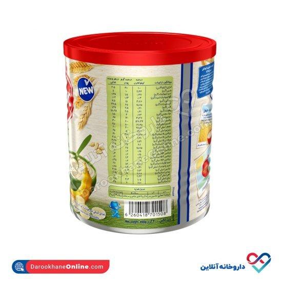 سرلاک گندم و موز به همراه شیر نستله   غذای کمکی کامل کودکان از پایان 7 ماهگی