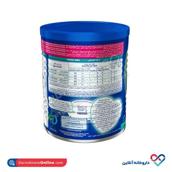 شیر خشک گیگوز 1 نستله | 400 گرم | غذای کامل و حاوی انواع ویتامین و مواد معدنی از بدو تولد