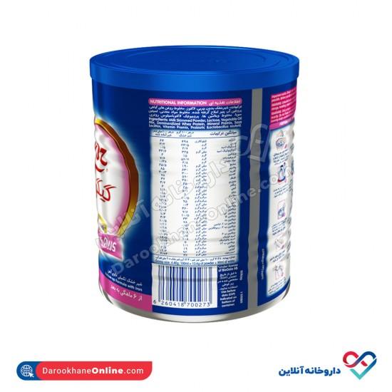 شیر خشک گیگوز 2 نستله | 400 گرم | غذای کامل و حاوی انواع ویتامین و مواد معدنی از 6 تا 12 ماهگی
