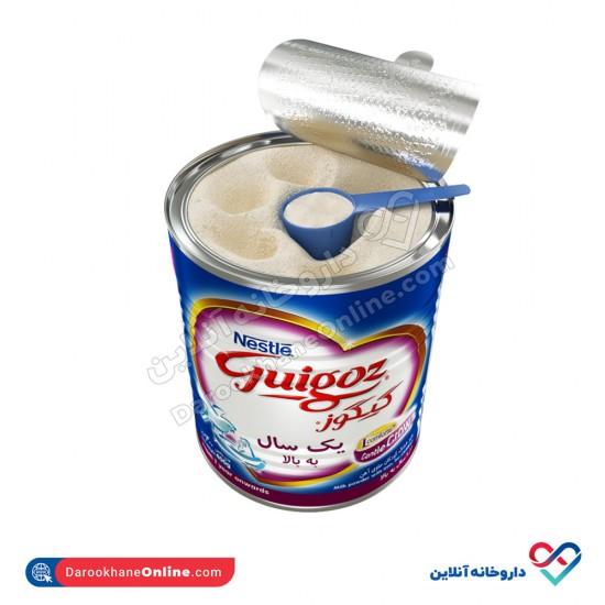 شیر خشک گیگوز 3 نستله   400 گرم   غذای کامل نوزادان از 12 ماهگی به بعد