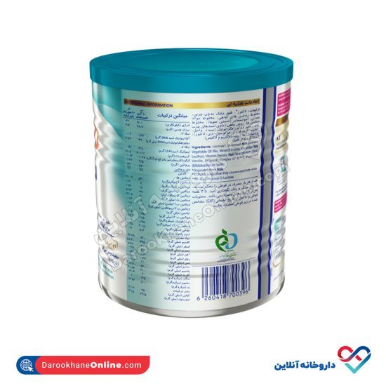 شیر خشک نان کید نستله   400 گرم   حاوی انواع ویتامین و مواد معدنی مورد نیاز بدن کودک