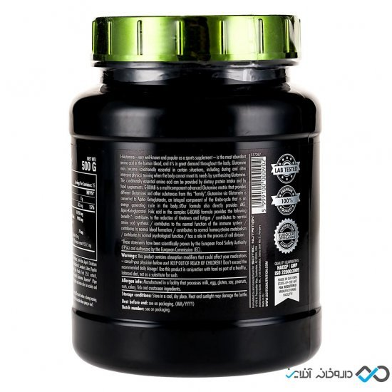 پودر جی بمب سایتک | 500 گرم | گلوتامین مولتی کمپلکس برای کاهش خستگی