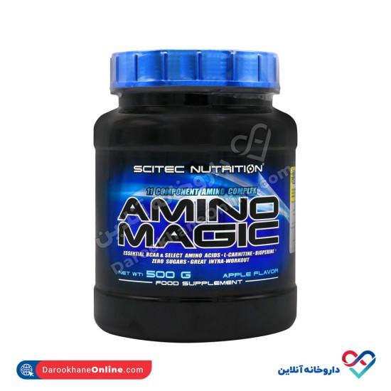 پودر آمینو مجیک سایتک نوتریشن | 500 گرم | حاوی 11 نوع آمینو اسیدهای منتخب و BCAAهای ضروری