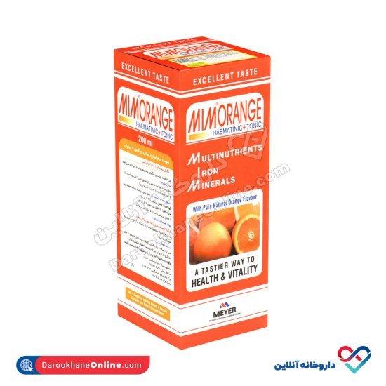 شربت میم اورنج میر ویتابیوتیکس   تامین ویتامین ها و عناصر ضروری بدن کودک
