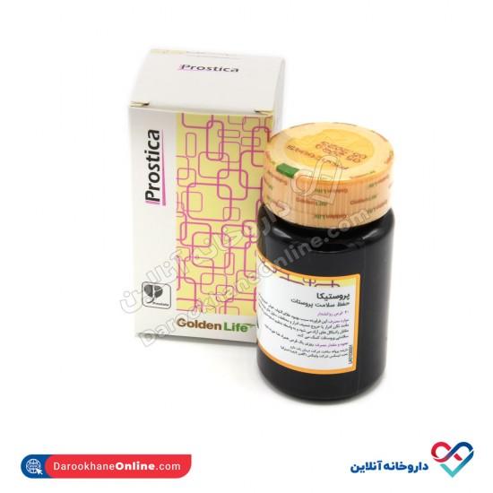 قرص پروستیکا گلدن لایف | 30 عدد | بهبود مجاری ادراری و التهاب خوشخیم پروستات