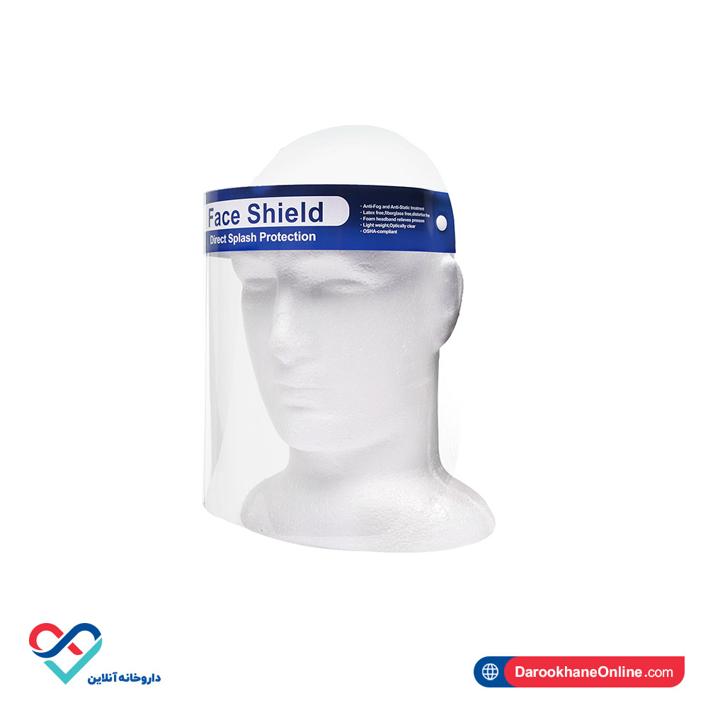 شیلد محافظ صورت پزشکی   تلقی