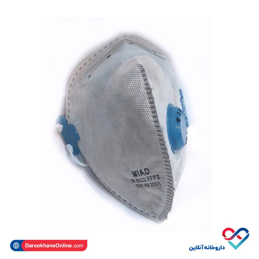 ماسک فیلتردار 5 لایه کربن دار میعاد   ماسک تنفسی
