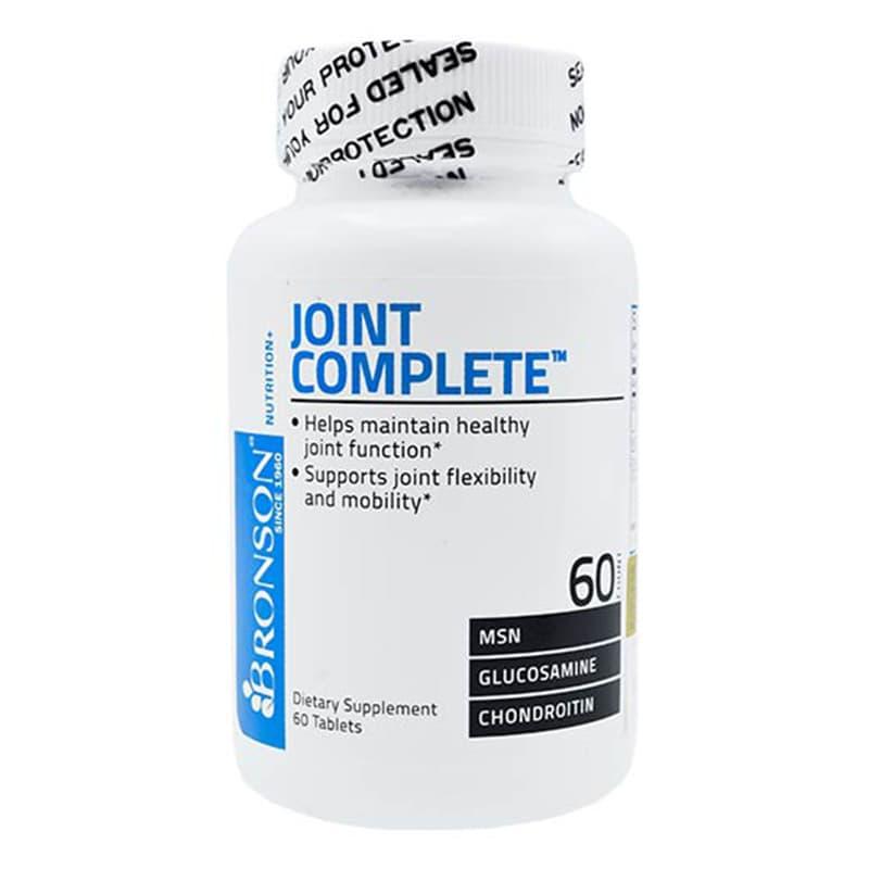 قرص جوینت کامپلیت برونسون | 60 عدد | کمک به محافظت از مفصل ها و کمک به بر طرف کردن ناراحتی های مفصل