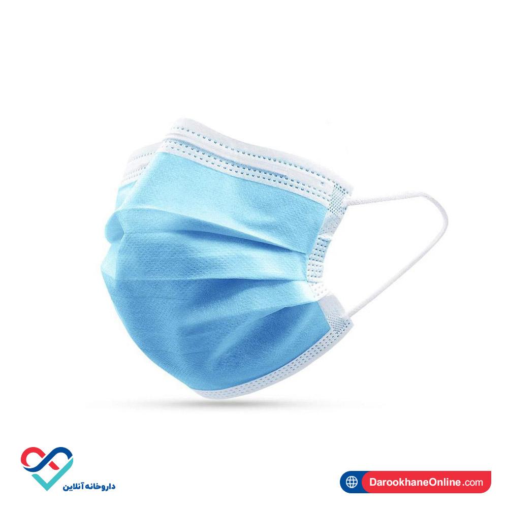 ماسک  سه لایه پزشکی سوپریم   تمام پرس   بسته 50 عددی
