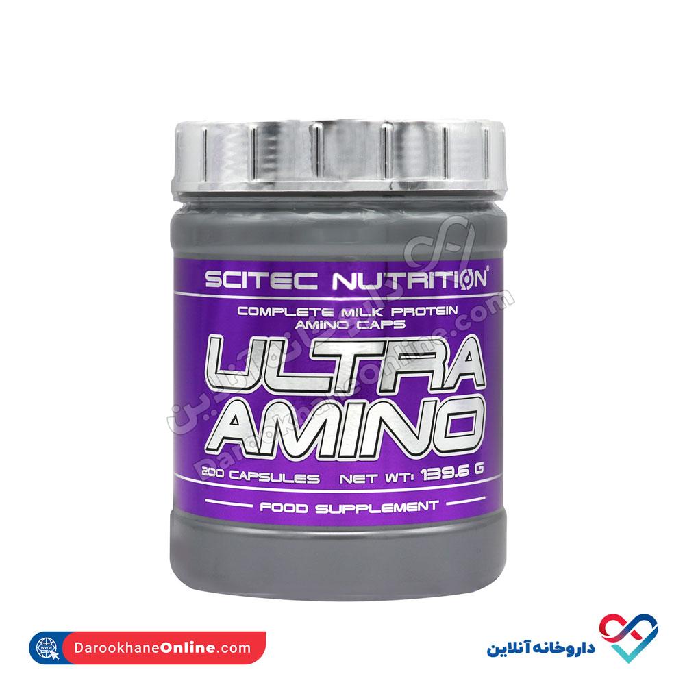 کپسول اولترا آمینو سایتک نوتریشن | 200 عدد | کمک به ریکاوری عضلات