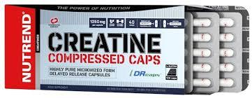 کپسول کراتین کامپرسد ناترند | 120 عدد | کراتین خالص برای افزایش استقامت عضلات