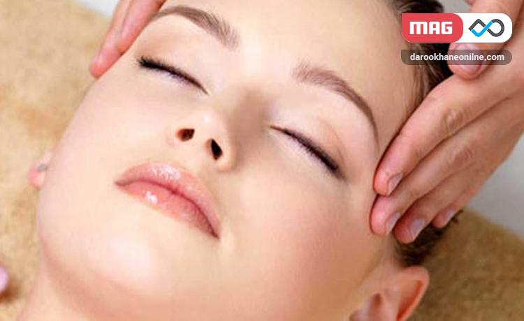 ماساژ صورت روشی برای داشتن پوست صاف